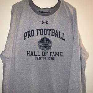 Pro Football Hall of Fame UA Crew Neck Sweatshirt